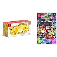 Nintendo Switch Lite - Yellow + Mario Kart 8 Deluxe