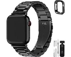 Fullmosa Acero Inoxidable Correa Compatible Apple Watch/iWatch Serie SE, Serie 6, Serie 5, Serie 4, Serie 3, Serie 2, Serie 1