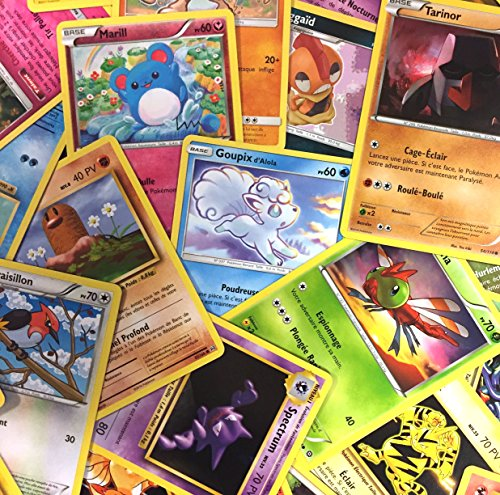 Pokémon : Lot de 10 Cartes communes francaises sans doubles !