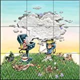 Fliesenwandbildbild - Grill-Meister - von Gary Patterson - Küche Aufkantung / Bad Dusche