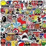 KOWASO Pacchetto di Adesivi per Laptop 100 Pezzi, Adesivo alla Moda Adesivi Fantastici Unici Adesivo per Acqua Notebook per C