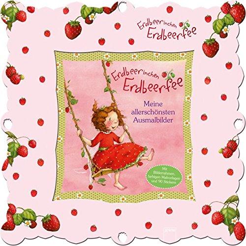 Preisvergleich Produktbild Erdbeerinchen Erdbeerfee. Meine allerschönsten Ausmalbilder: Bilderrahmen-Set