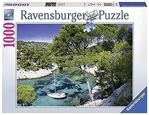 Ravensburger - Playa Francesa, Rompecabezas de 1000 Piezas, 70 x 50 cm (196326)