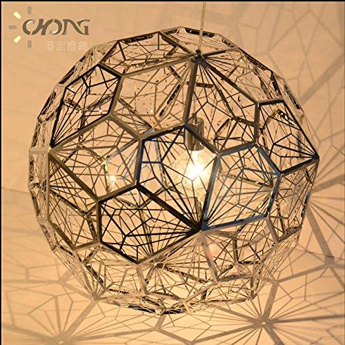 Poligono di arte creativa diamante palla da tennis in acciaio
