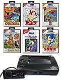 SEGA Master System 2 Konsole inkl. Zubehör und mit 7 Kultspielen
