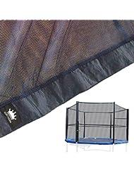 Filet de protection de remplacement pour trampoline 244 cm - Armatures non fournies