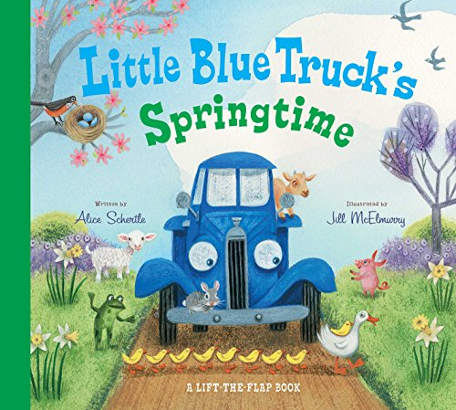 Little Blue Truck's Springtime (English Edition)