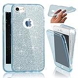 SevenPanda Coque pour iPhone 6 Plus 5.5 Pouce, Intégrale Avant et Arrière 360...