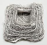 Rattan Reben Pflanzkissen Weiß Grau 20cm x 20cm x 7cm Kissen Zum Bepflanzen Rattankissen Pflanzschale Korb Dekokorb Hochzeit Gastgeschenk Tischdeko