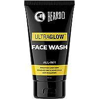 Beardo Ultraglow Face Wash for Men   Brightens & Balances Skin Tone   Reduces Dark Spots & Hyperpigmentation  Daily use…