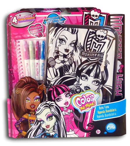 Agenda High Monster (Color Me Mine 45902 Agenda Umhängetasche Monster High (CIFE))