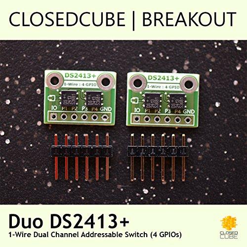 Gebraucht, ClosedCube Duo DS2413 adressierbarer 1-Wire-Zweikanalschalter gebraucht kaufen  Wird an jeden Ort in Deutschland