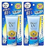 Best Bioré Face Powders - Biore Sarasara UV Aqua Rich Watery Essence Sunscreen Review