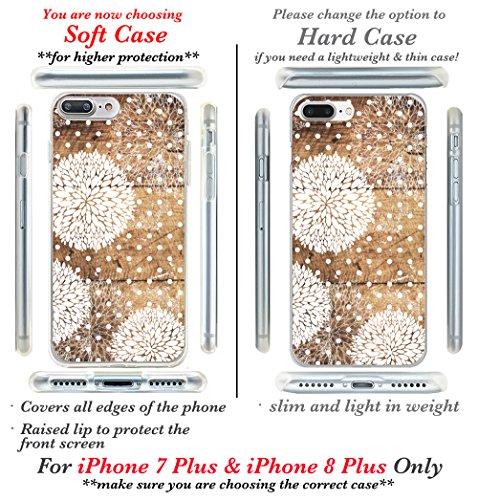 iPhone 7custodia, Casesbylorraine carino modello custodia rigida in plastica per Apple iPhone 7, I33, iPhone 7 Plus Hard Case G13