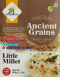 24 Organic Mantra Products Little Millet, 500g