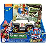 Paw Patrol Tracker's Cruiser Jungle Rescue, Vehicle and Pup
