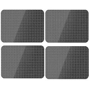 Xinlie Car Sun Shades Film de Teinte pour Voiture Film de Miroir pour Voiture Protection Solaire Statique auto-adhésive pour Voitures Sun Shades Pare-soleil pour Voiture Pare-soleil 42cm × 38cm(4PCS)