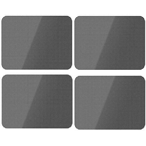 Xinlie Profi Auto Tönungsfolie Auto Spiegelfolie Selbstklebend Statischer Sonnenschutz für Autos Sonnenschutz Folien Sonnenblende Auto Sonnenschutzfolie Auto Sonnenschutz 42 cm×38 cm(4 Stück)
