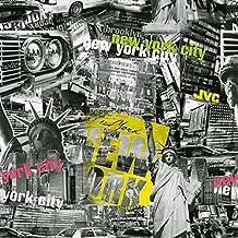 Venilia adesiva New York con pellicola decorativa pellicola mobili carta da parati adesiva, PVC, senza ftalati 45cm X 3m 53222, Multicolore, 300x 45cm