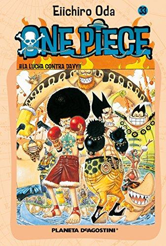 One Piece nº 33: ¡¡La lucha contra Davy!! (Manga Shonen) por Eiichiro Oda