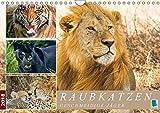 Raubkatzen: Geschmeidige Jäger (Wandkalender 2018 DIN A4 quer): Raubkatzen: Elegant, stark und gefährlich (Monatskalender, 14 Seiten ) (CALVENDO Tiere) [Kalender] [Apr 12, 2017] CALVENDO, k.A.