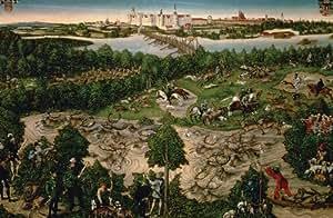 Puzzle 1000 pièces - Lucas Cranach : Chasse au cerf du prince électeur Jean Frédéric de Saxe