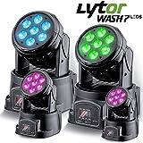 Scheinwerfer lytor wash7LEDs DMX RGB 4W + Weiß pack 4–DMX-512(7oder 12Kanäle)