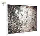B-wie-Bilder.de Magnettafel Pinnwand mit Motiv Muster Beton 1 Größe 80 x 60 cm