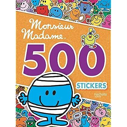 Monsieur Madame - 500 stickers