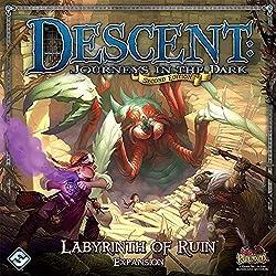 Reinos de Terrinoth - Laberinto de perdición, juego de mesa (Edge Entertainment DJ04)