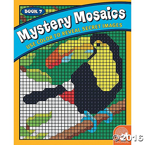 Mystery Mosaics: Book 7 by Mind Ware