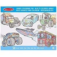 Melissa & Doug- Vehicles Bloc de Colorear, Multicolor (14205)