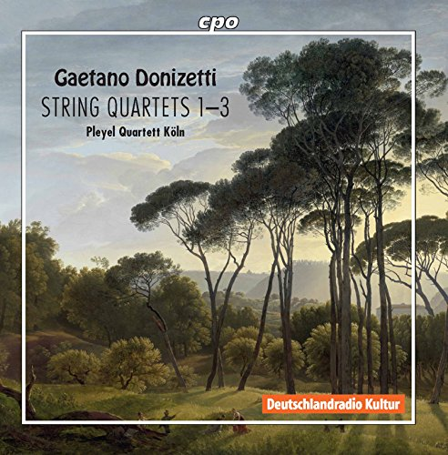 Donizetti: String Quartets Nos. 1-3