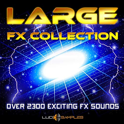 Large Fx Collection - Über 2000 einzigartige Sound-Effekte WAV Files DVD non BOX