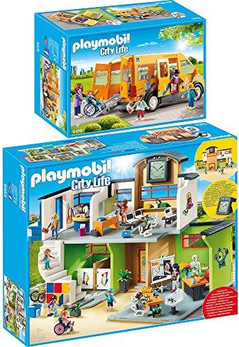 Playmobil City Life Set en 2 Parties 9453 9419 Grande École avec...
