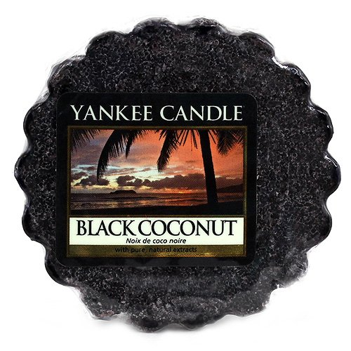 Yankee Candle Wax Melts BLACK COCONUT 22 g - Coconut Candle Yankee