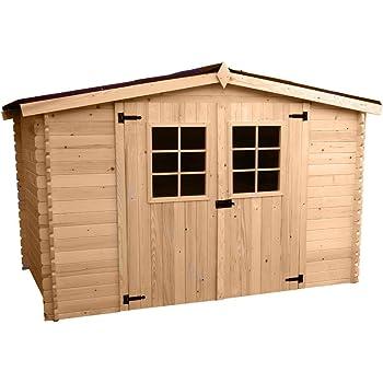 Box Casetta legno 28mm 300x200xh197cm pavimento esterno attrezzi MO3020.01N