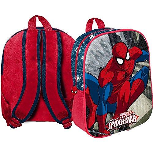 Zaino spiderman marvel borsa asilo scuola cm.33 - 42941