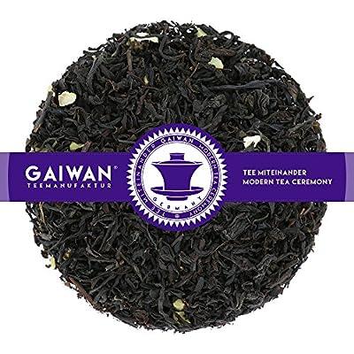 """N° 1364: Thé noir """"Rum Vanilla"""" - feuilles de thé - GAIWAN® GERMANY - thé noir d'Inde, Chine, morceauxd'amande, raisins, vanille sans alcool"""