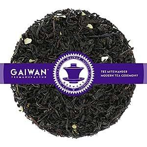 """N° 1364: Tè nero in foglie""""Rum Vaniglia"""" - 100 g - GAIWAN GERMANY - tè in foglie, tè nero dall'India, tè nero dalla Cina, tè cinese, mandorla, uva passa, vaniglia"""
