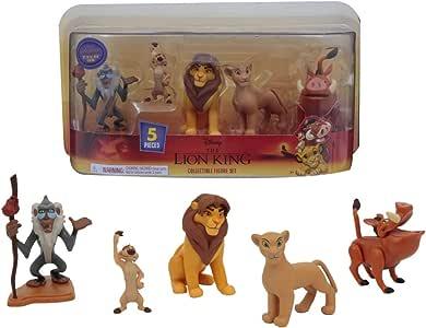 Personaggi film il Re Leone Set 12 Statuette Action Figure Simba