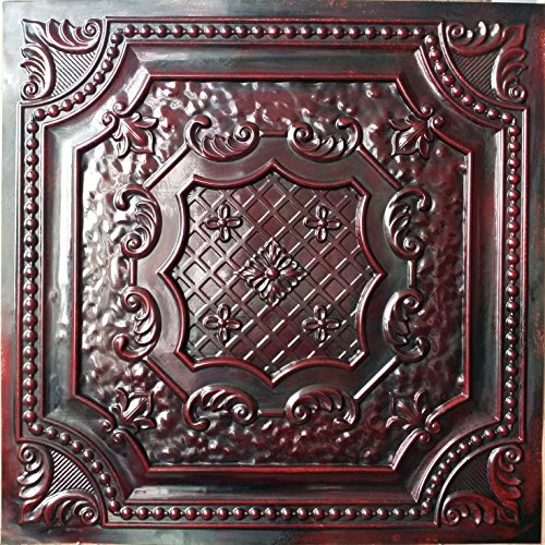 pl04-acabado-de-imitacion-3d-techo-azulejos-rojo-madera-color-en-relieve-cafe-pub-shop-arte-decoraci