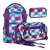 Satch PACK Hurly Pearly 3er Set Schulrucksack