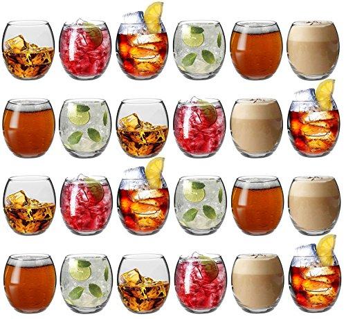 Preisvergleich Produktbild Argon Tableware Tondo Wassergläser / Saftgläser / Whiskygläser - 6er Geschenkset - 405 ml x24