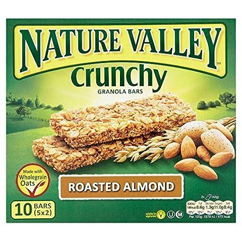 Bars Nature Valley Crunchy Granola - rôti aux amandes (5x42g) - Paquet de 6