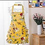 Floral vieux gros tabliers de cuisine de combinaisons étanches tabliers modèles masculins avec Poignets tabliers corps pastoral