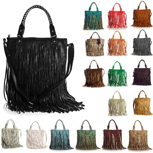 Big Handbag Shop, Borsa a spalla donna One Pastel Green