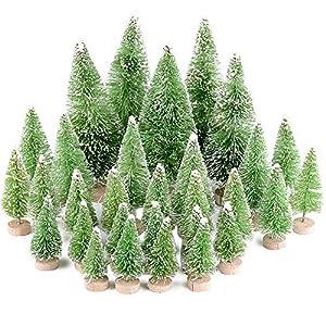 MEJOSER 30pcs Mini árbol de