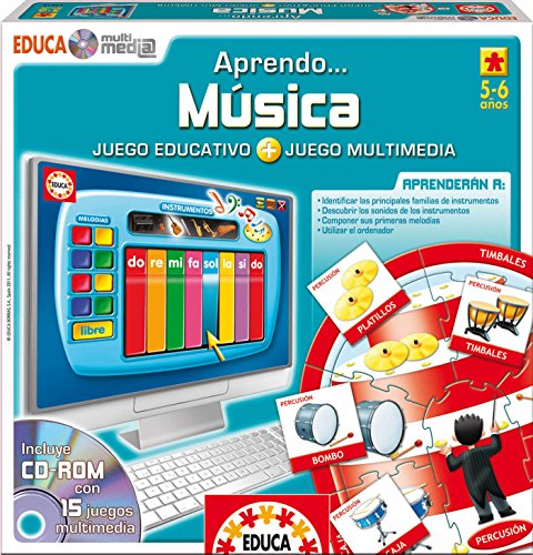 Educa Borrás 14910 - Educa Multimedia Música