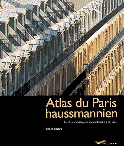 Atlas du Paris haussmannien par Pierre Pinon